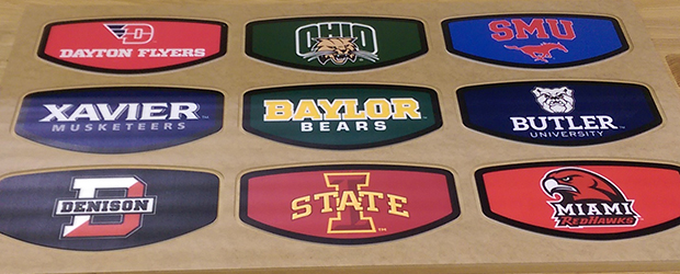 Customizing Desks for Alumni and Fans - Our College Desk Series