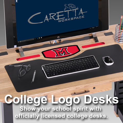 Officially Licensed College Desks