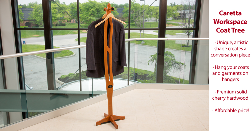 Featured Product: Caretta Workspace Coat Tree