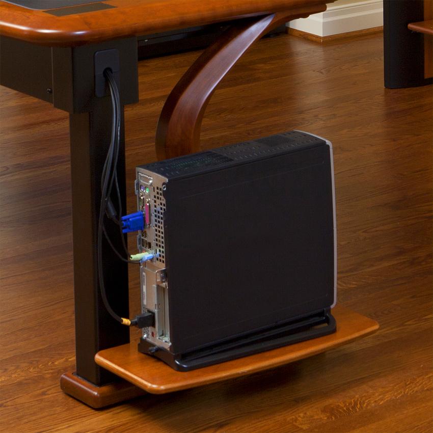 Artistic Computer Shelf Caretta Workspace