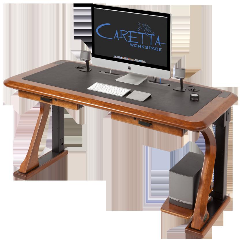 Artistic puter Shelf Caretta Workspace
