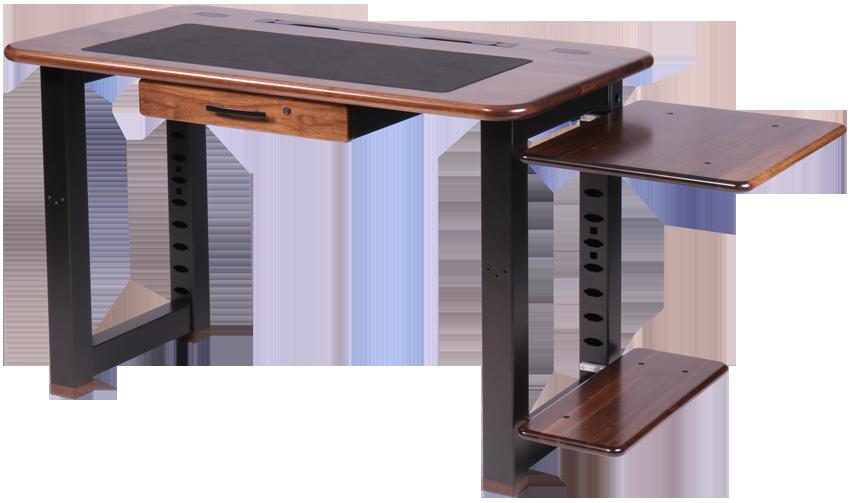Small Shelf For Loft Desk Walnut Caretta Workspace