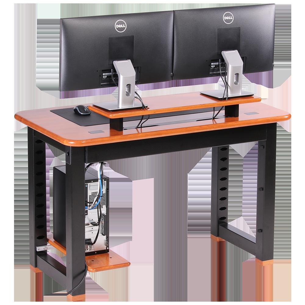 Loft Desktop Riser Shelf Natural Cherry Caretta Workspace