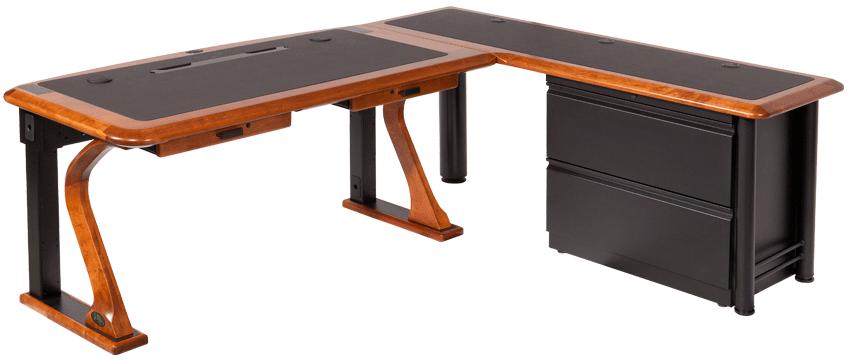 Lateral File Cabinet for L Shaped Desks - Caretta Workspace