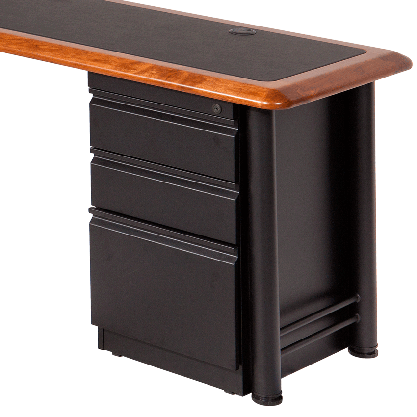 Box Box File Cabinet for L Shaped Desks