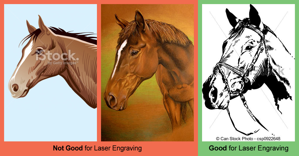 Good images for laser engraving