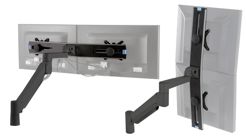 Monitor Arm - Switch Articulating Dual Monitor Arm