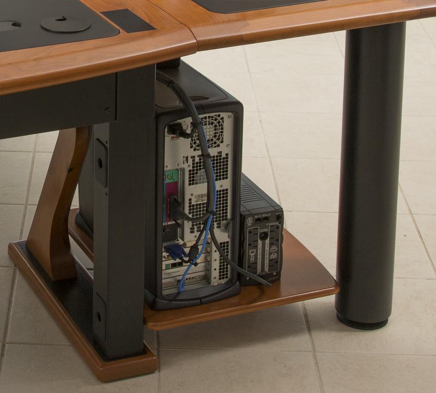 Artistic Printer Shelf Caretta Workspace