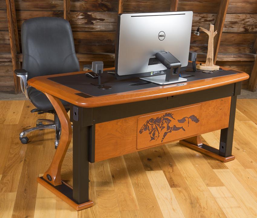 Artistic Computer Desk 2 Caretta Workspace