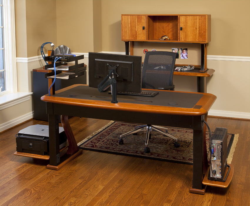 The 62 X 32 Artistic Computer Desk