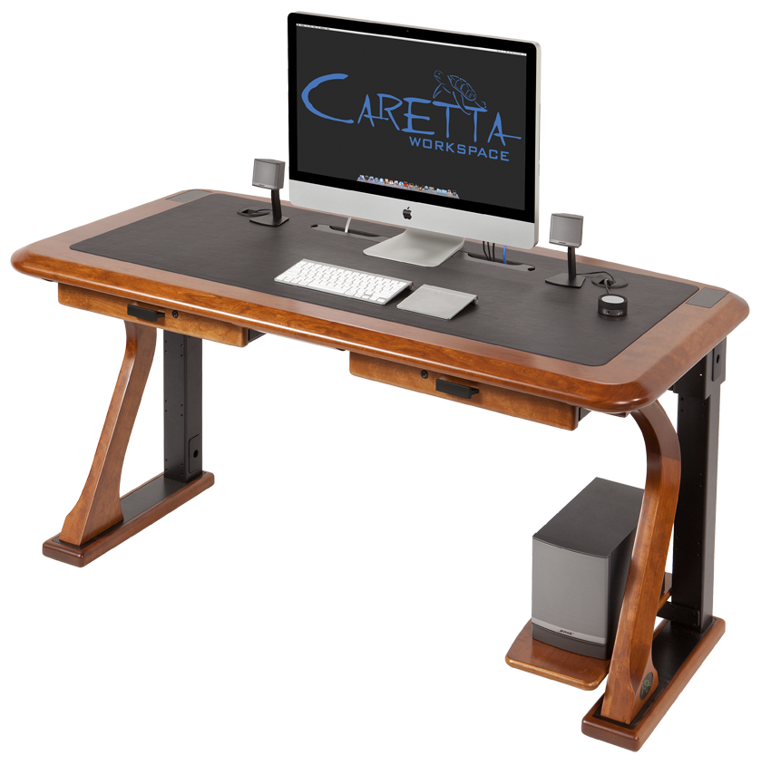 How to Wire your iMac Desk - Caretta Workspace