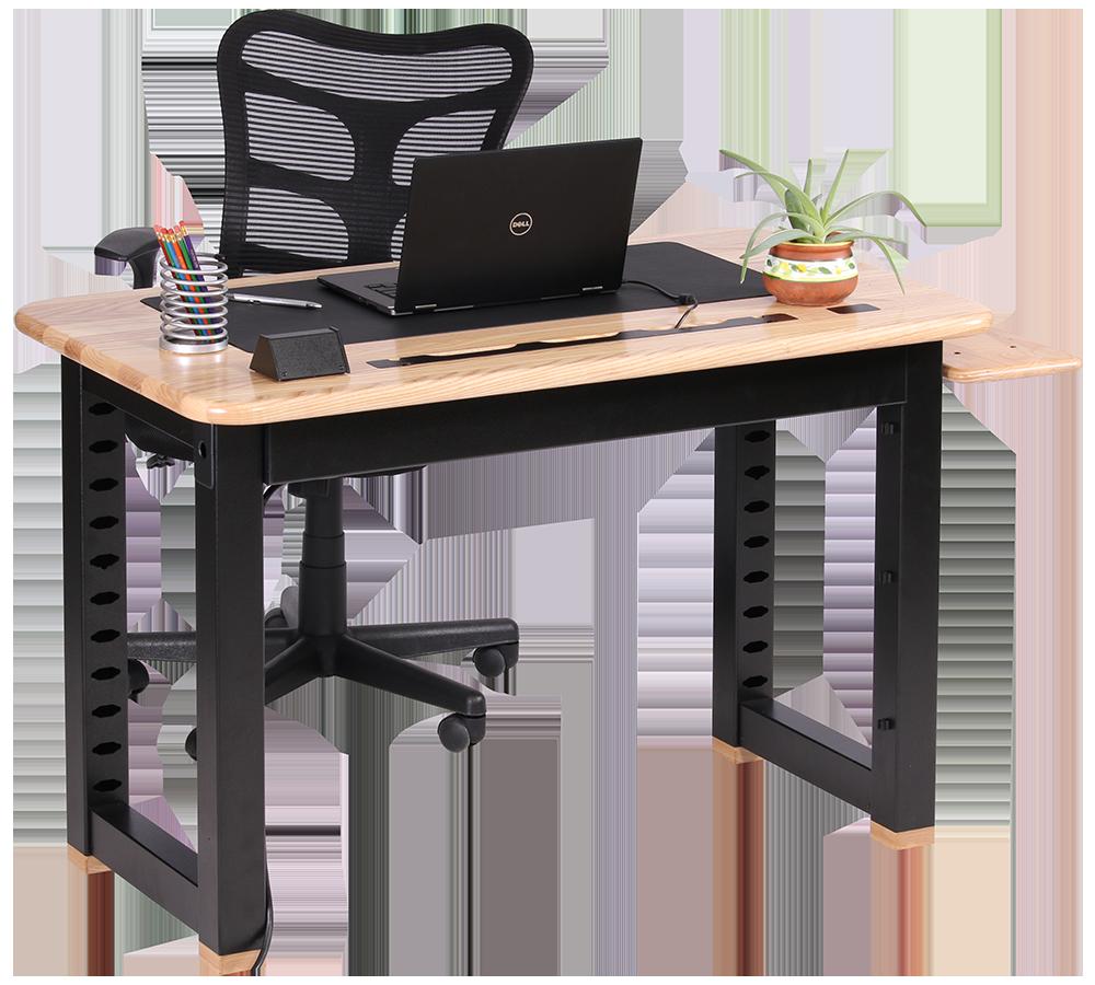 Loft Computer Desk Ash Caretta Workspace