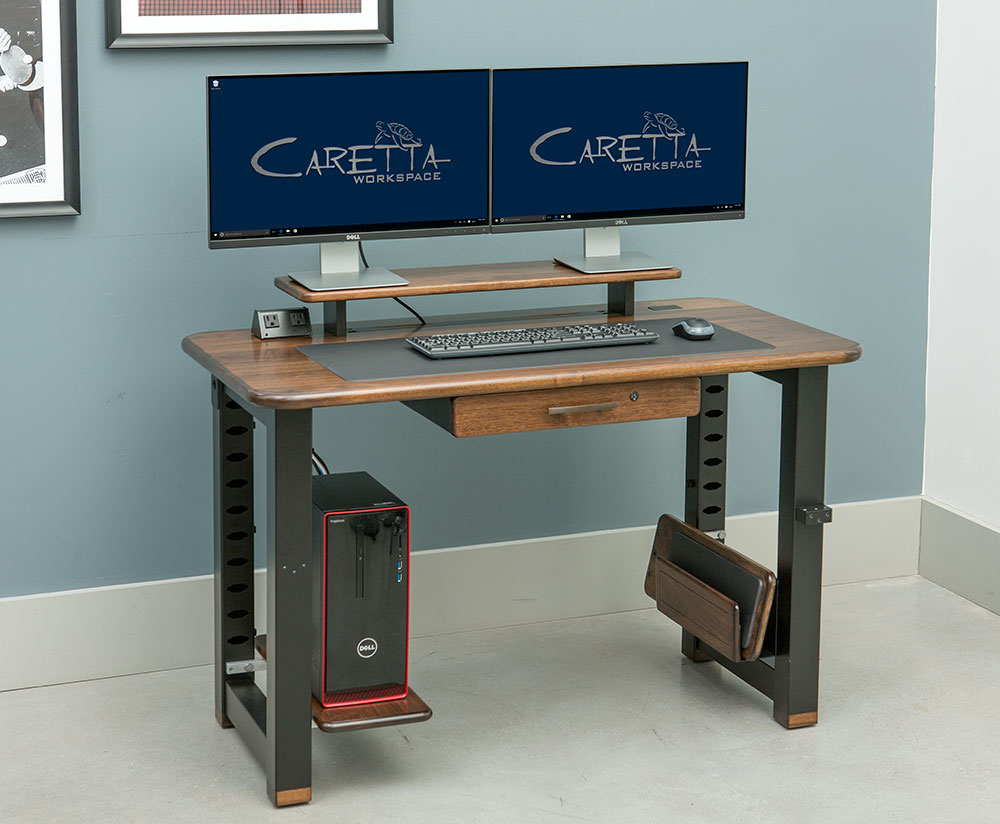 Loft Desk Black Walnut Caretta Workspace