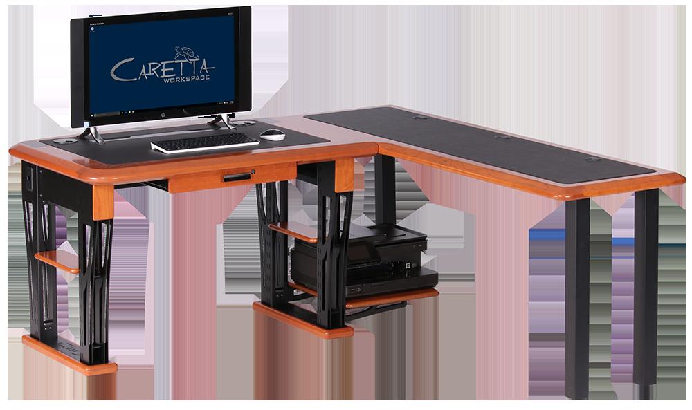 Modern Urban Desk Petite L Shaped Right