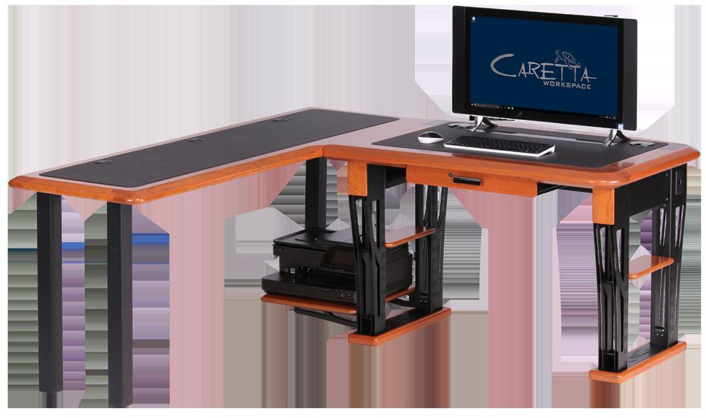 Modern Urban Computer Desk Petite L Shaped Left Caretta