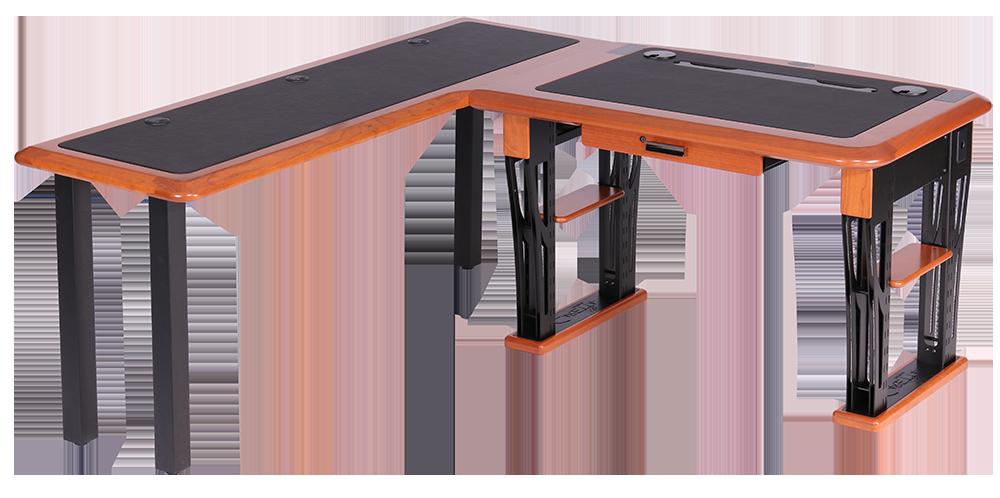Modern Urban Computer Desk Petite, L Shaped Left - Caretta ...
