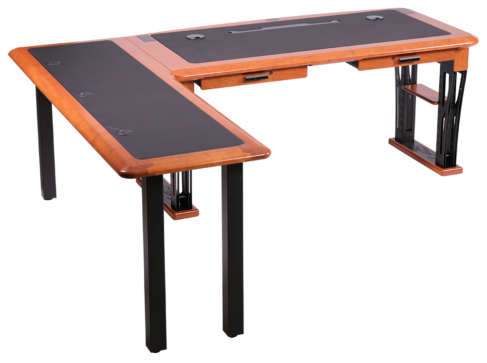 The Modern Urban L Shaped Left Luxury Computer Desk