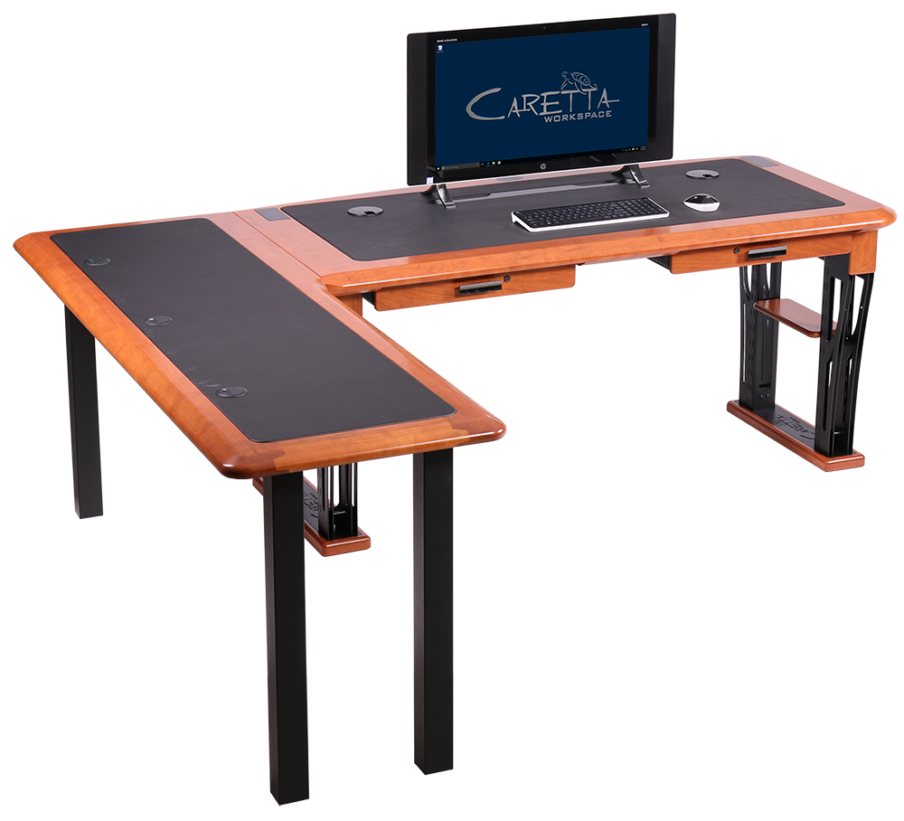 Modern Urban Computer Desk 2 L Shaped Left Caretta