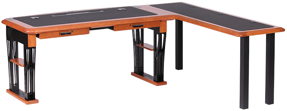 the modern urban...L Shaped Computer Desk For Two