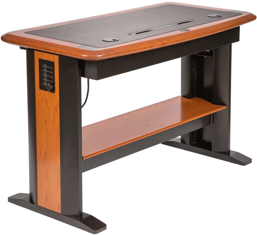 Standing Desks Executive Stand Up Desk: Standing Computer Desk Full