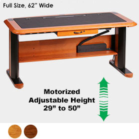 Wellston Executive Sit-Stand Desk, Full Size
