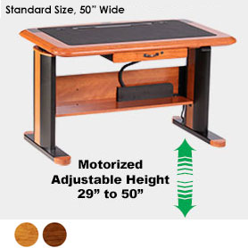 Wellston Executive Sit-Stand Desk, Standard Size