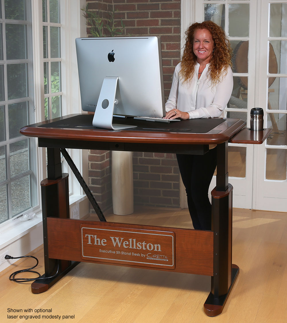 Wellston Adjustable Standing Desk