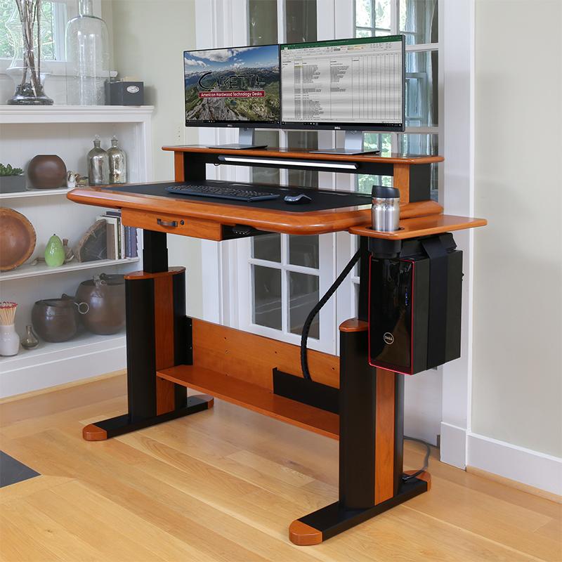 Standing Desks Executive Stand Up Desk: Wellston Executive Sit-Stand Desk, Standard Size