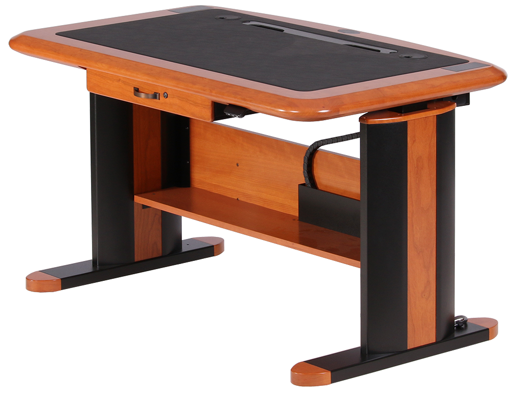 Wellston Executive Sit Stand Desk Standard Size Caretta