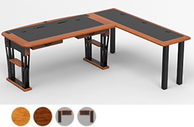 Modern Urban Desk Full, L Shaped