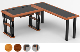 Modern Urban Desk Petite, L Shaped