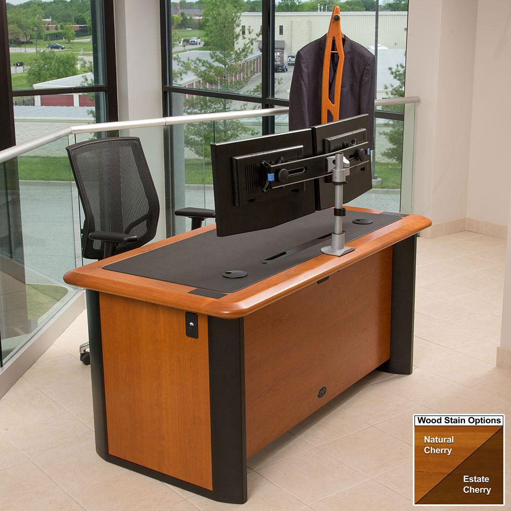 Traditional Computer Desk Caretta Workspace