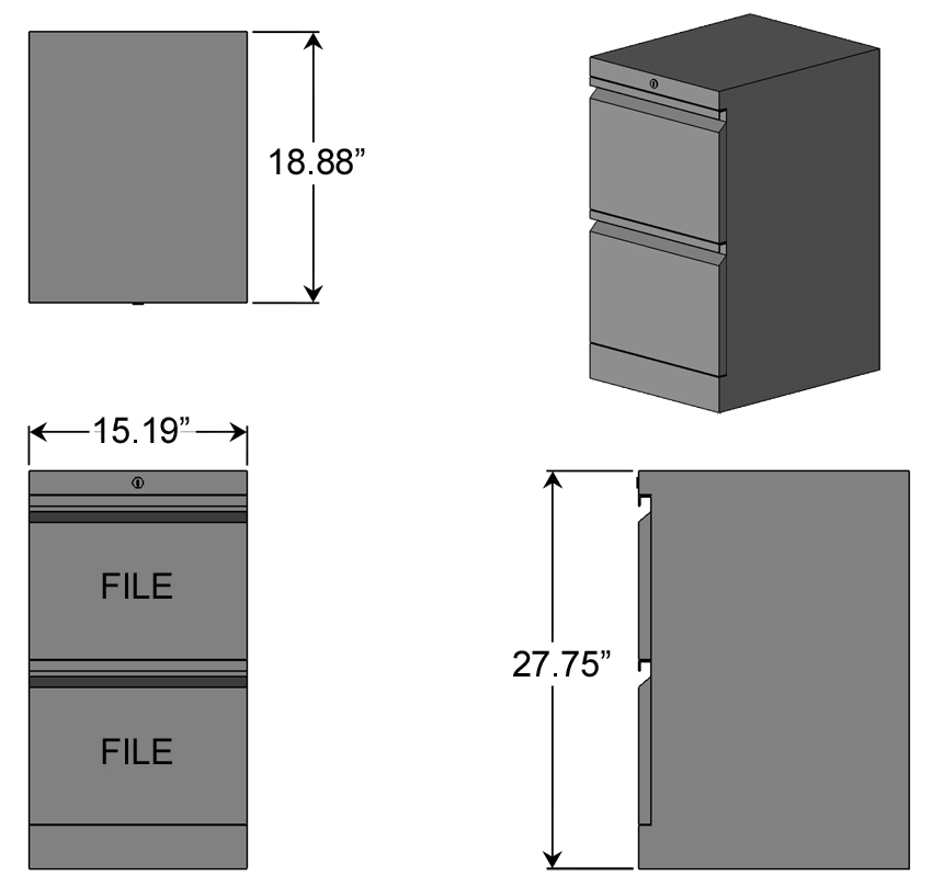 Great File File Pesestal File Cabinet Dimensions