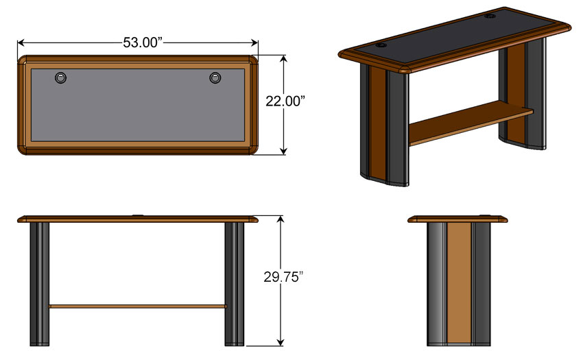 Side Table Dimensions