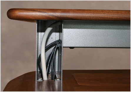 Riser Shelf Cable Management