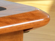 Bull Nose Desk Top Edge