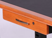Lined Locking Drawer