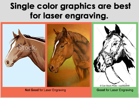 Best graphics for laser engraving