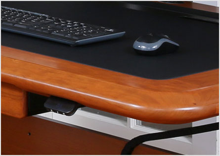 bull nose desk edge