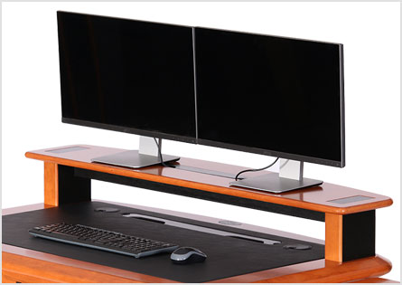 desktop riser shelf