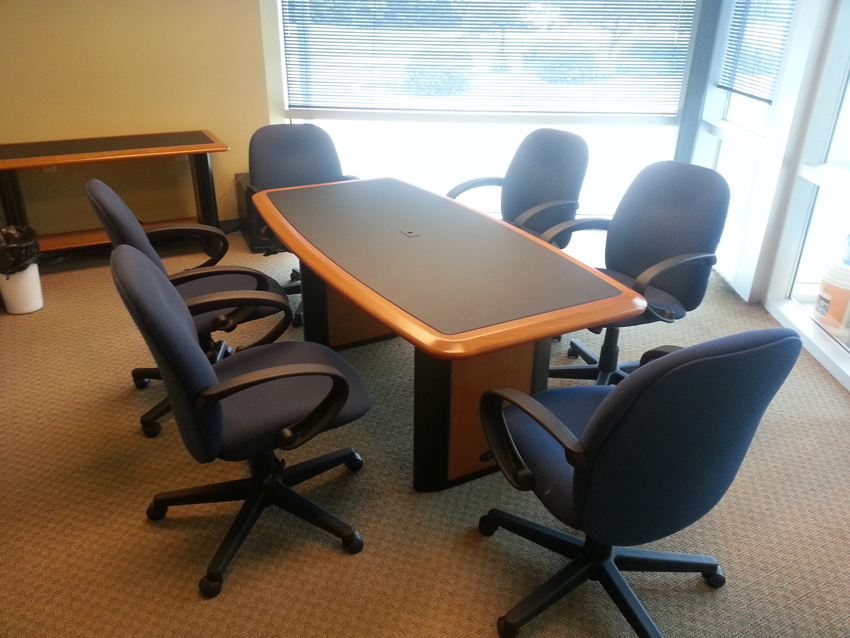 Conference Table For Six Caretta Workspace - Small conference room table