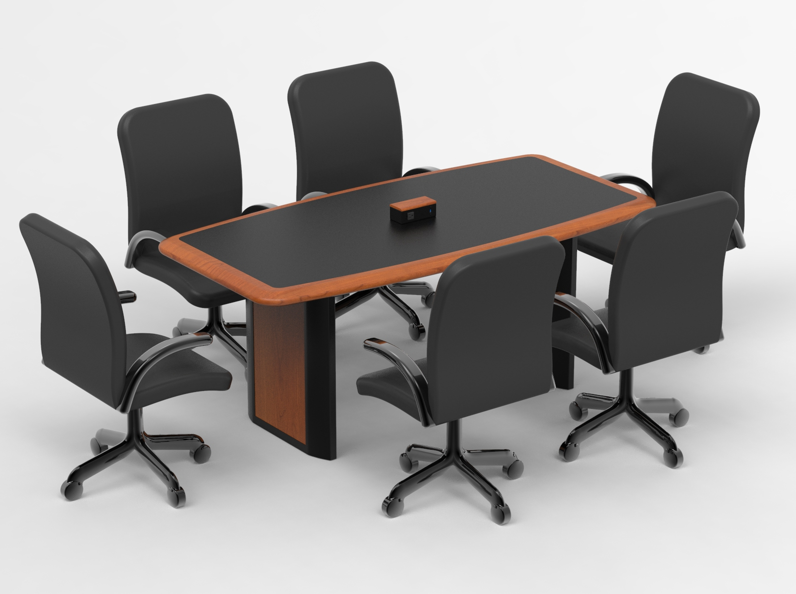 Outstanding Power And Data Connected Conference Table For Six Caretta Beutiful Home Inspiration Aditmahrainfo