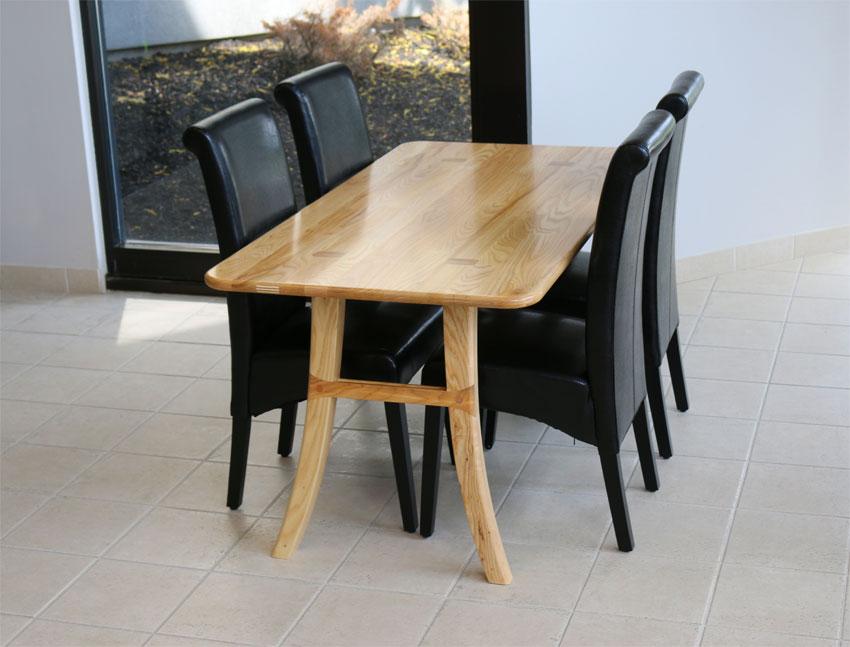 Loft Dining Table, Ash
