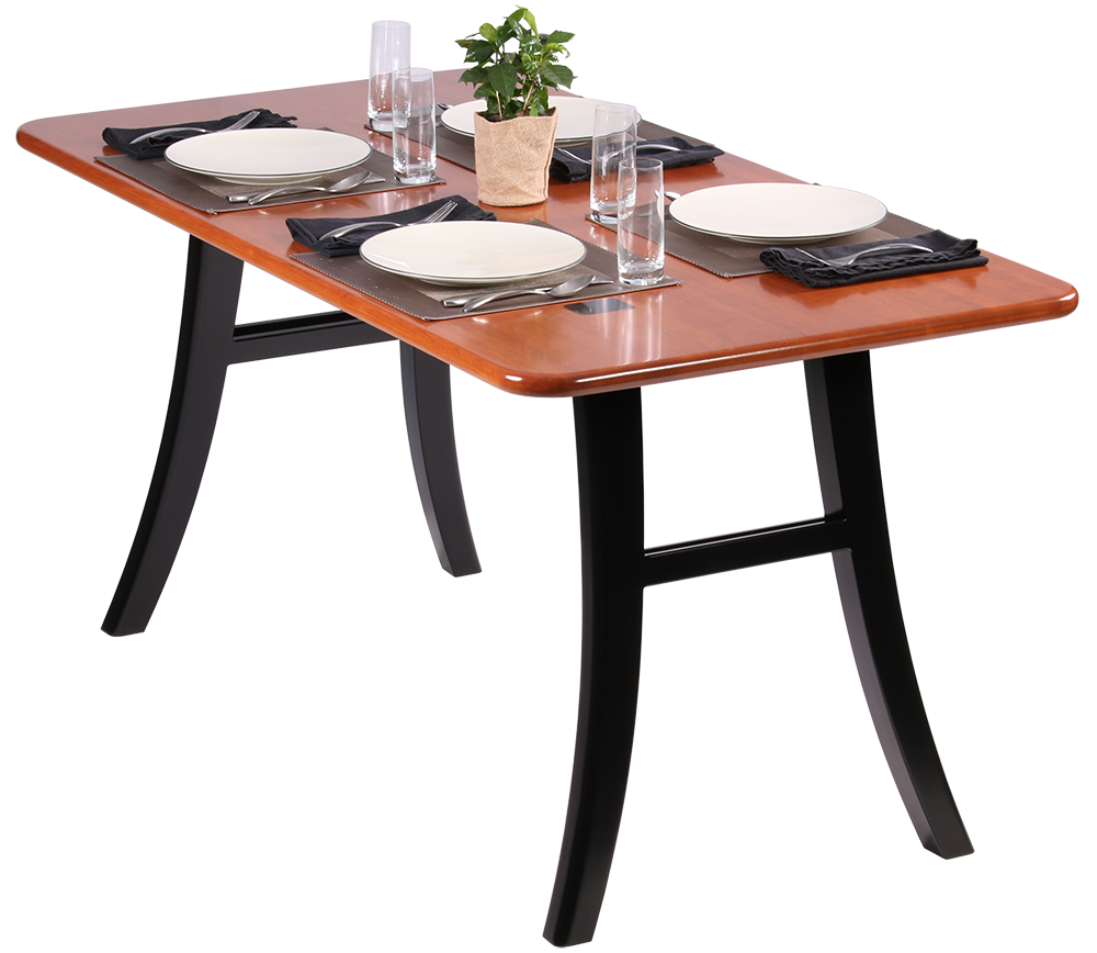 Loft dining table natural cherry caretta workspace for Dinner table