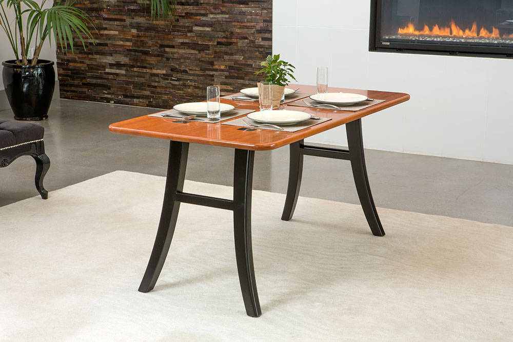 Loft Dining Table Natural Cherry Caretta Workspace
