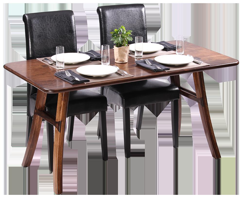 Loft Dining Table Black Walnut Caretta Workspace