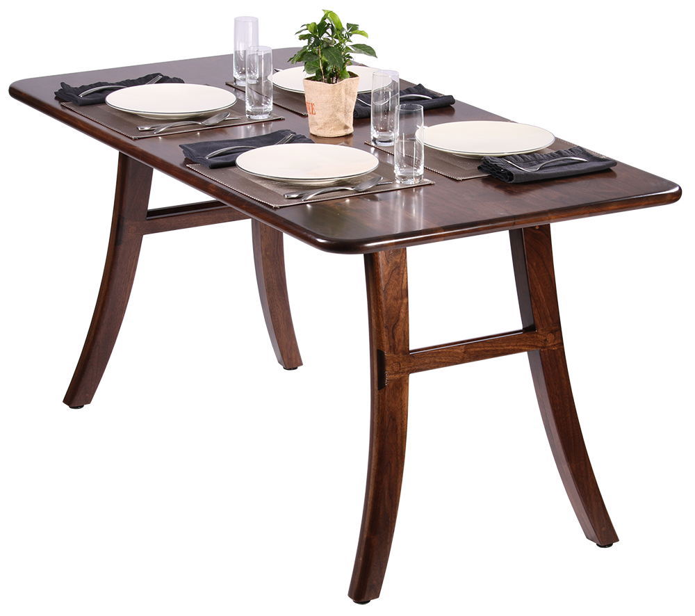 Loft Dining Table, Black Walnut