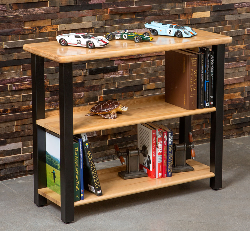 High Quality Bookshelf Table, Ash