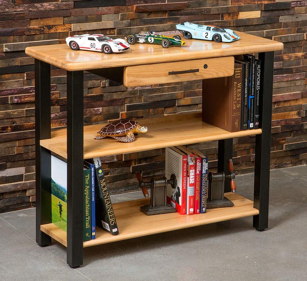 Well-known Bookshelf Table with Drawer, Ash - Caretta Workspace CB79