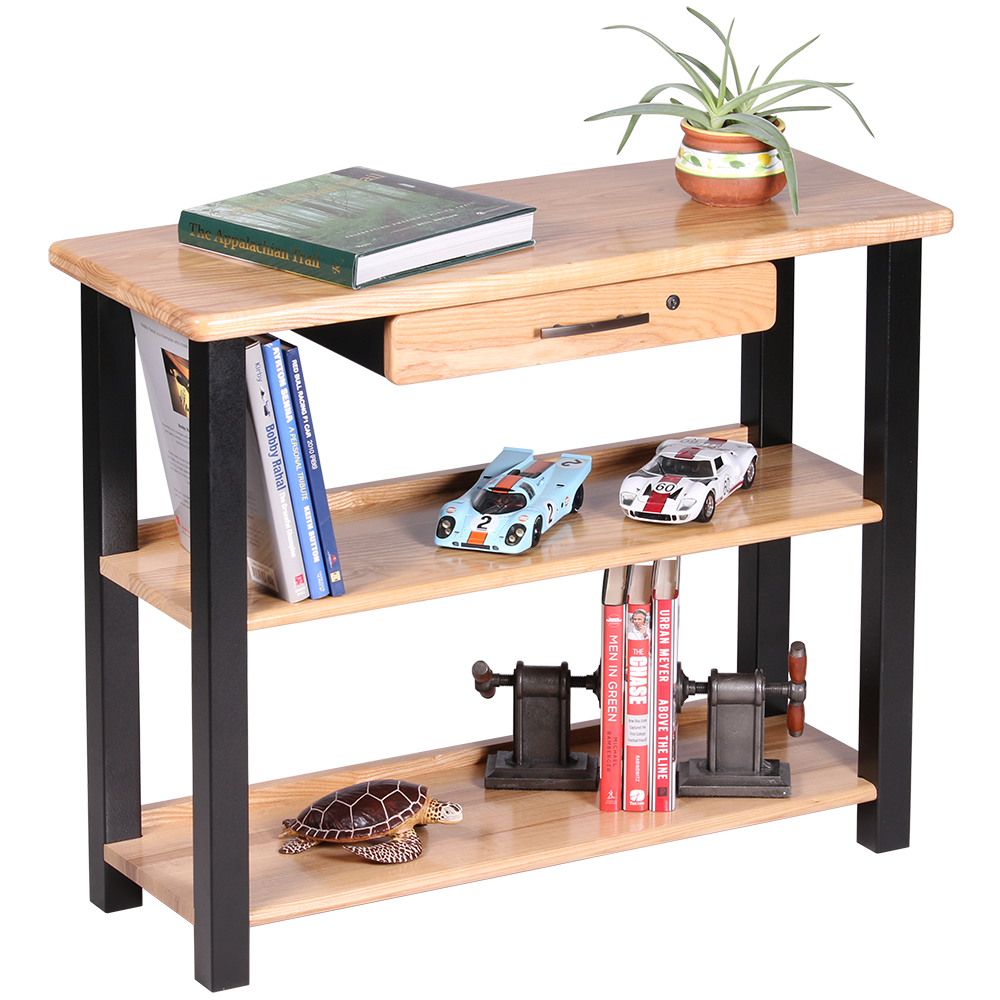 wood mounted small with out black bookshelf ideas under storage computer fold desk wall